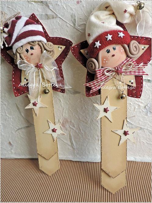Segnalibro con gli elfo