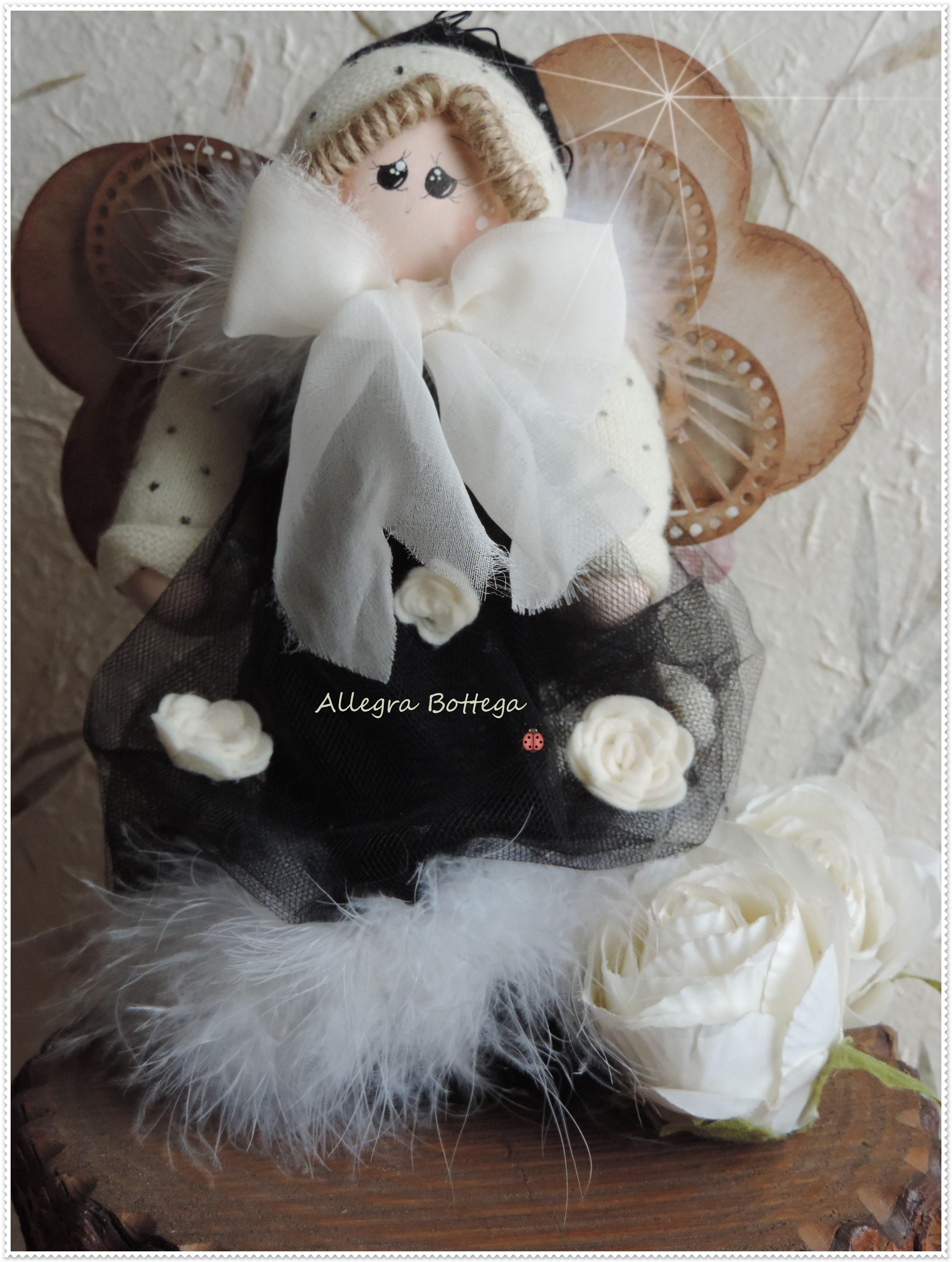 Bambola vestito nero