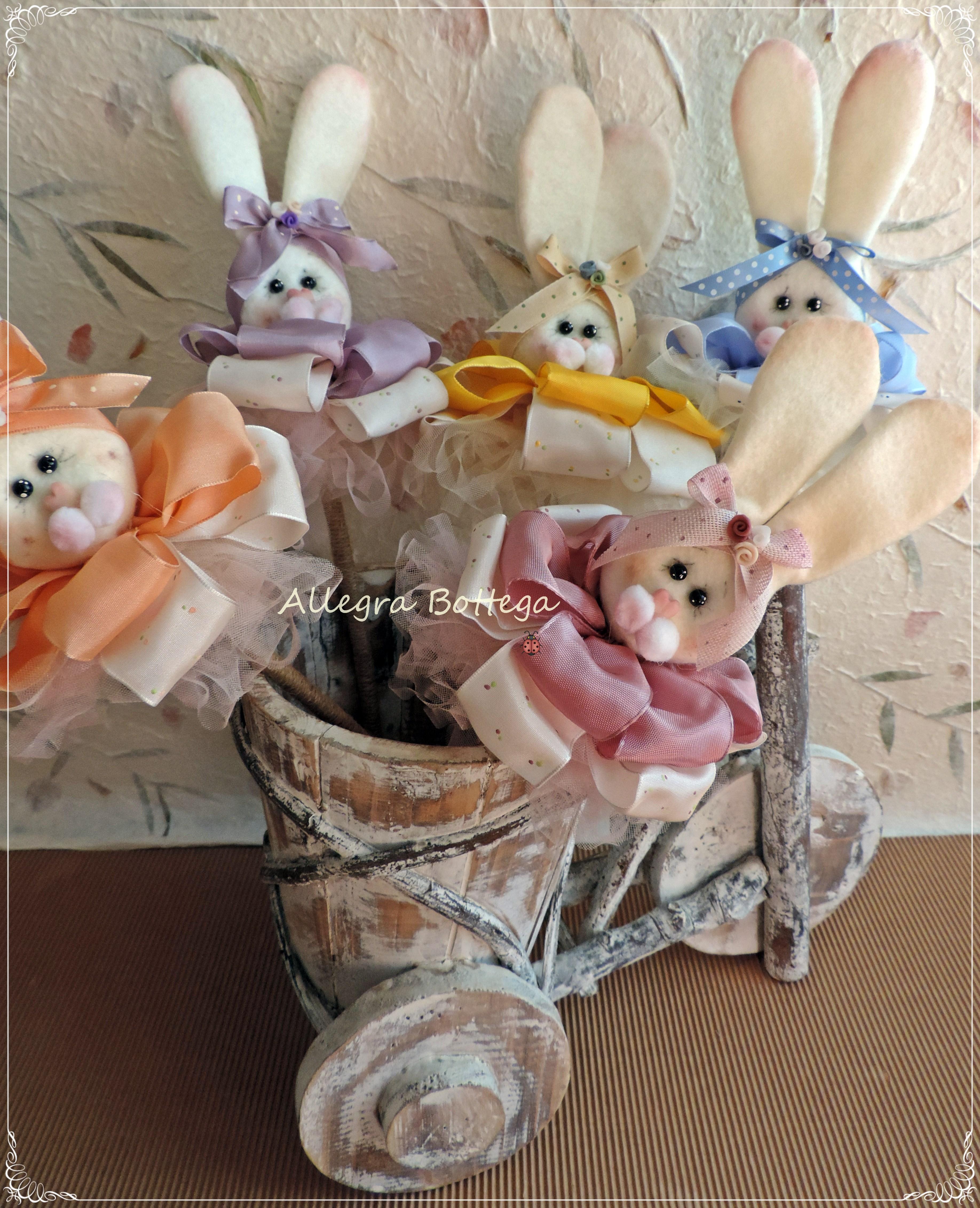Coniglietti sui fiocchi