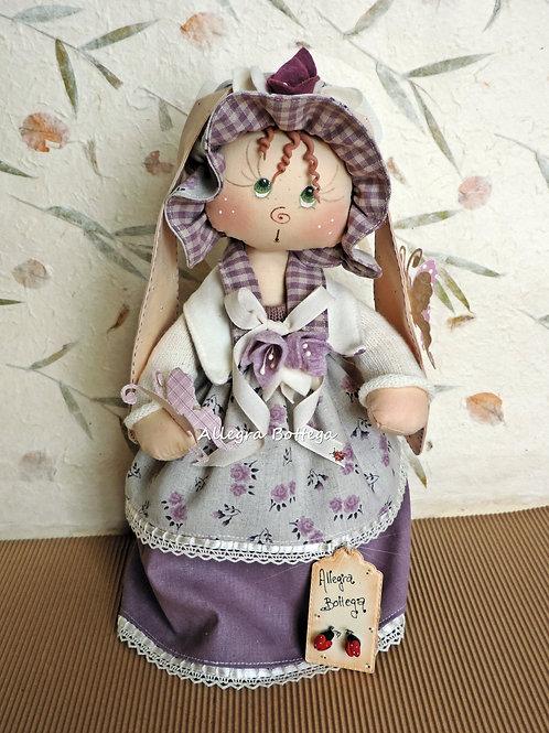 Cartamodello coniglietta Lilly