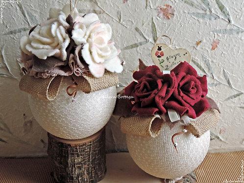 Palla con le rose