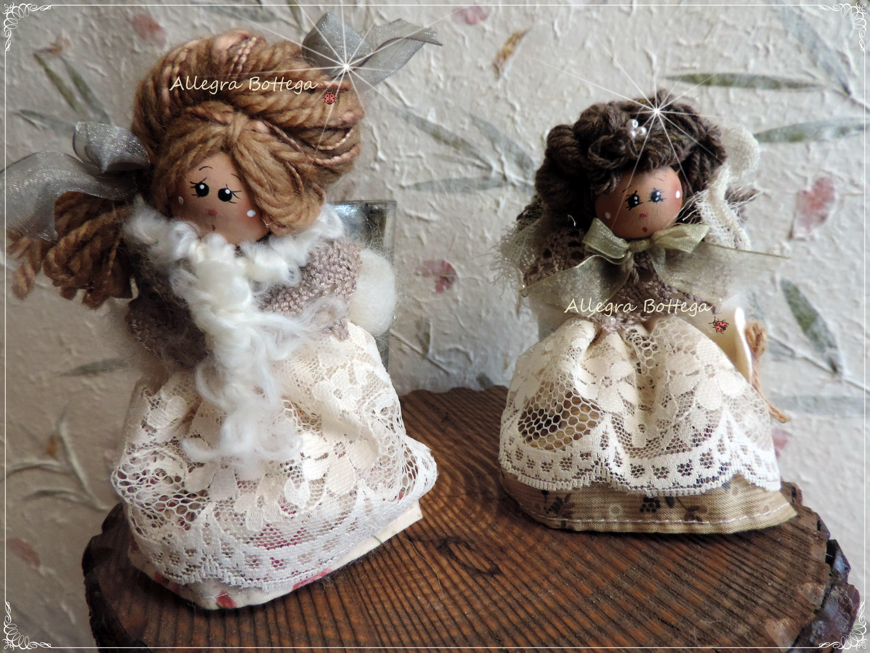 Bamboline con candele