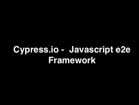 Page Object Pattern with Cypress