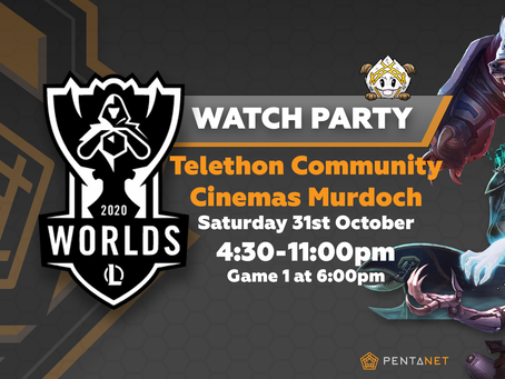 LEAGUE OF LEGENDS 2020 WORLDS GRAND FINAL WATCH PARTY
