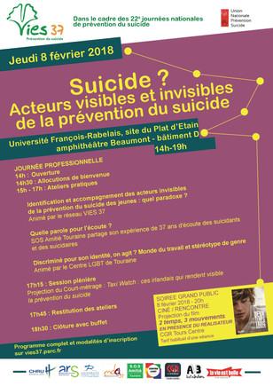 Journée Départementale de Prévention du Suicide