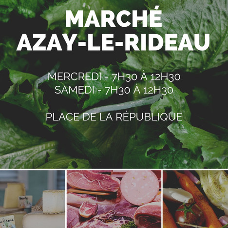 MARCHÉ D'AZAY-LE-RIDEAU