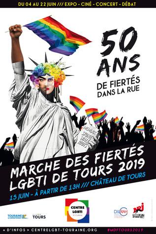 Marche des Fiertés de Tours 2019