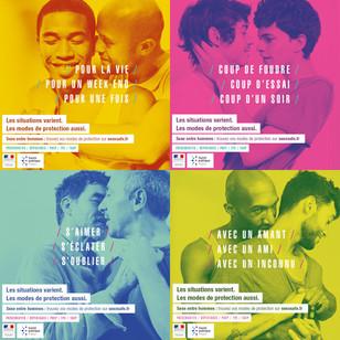 Soutien à la campagne de prévention du VIH