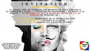 Conférence-débat à ne pas manquer le 15 juin - Transgenre : du droit à la réalité