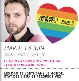Les Droits LGBT dans le monde, une conférence en présence de Ludovic-Mohamed Zaheb