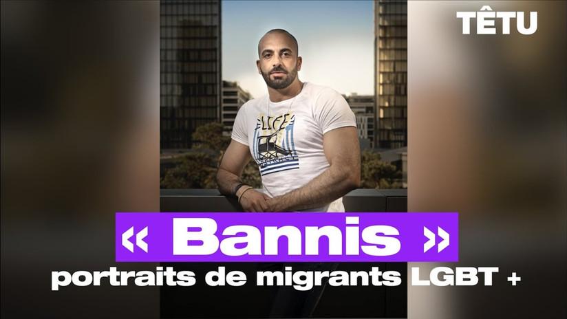 Bannis, 10 portraits de réfugiés homosexuels - Mardi 21 janvier à 19h - Bibliothèque Centrale de Tours