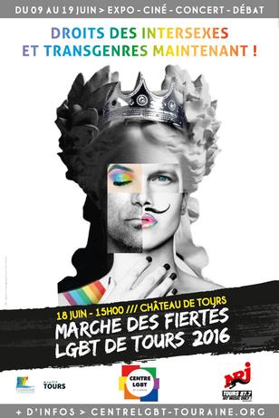 Marche des fiertés 2016 : affiche, mot d'ordre et programmation