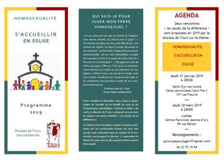 """""""Les jeudis de la différence"""" 2019 - Diocèse de Tours"""