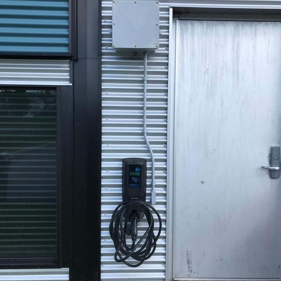 Installation d'une borne de recharge électrique à la MRC Appalaches