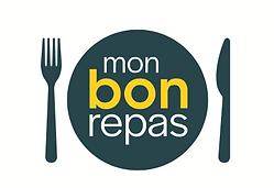 Logo Mon Bon Repas livre des repas frais et fais maison à domicile pour les personnes agées et les seniors