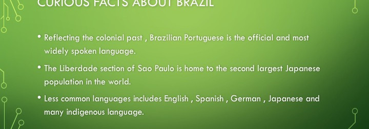 Curious facts about Brazil
