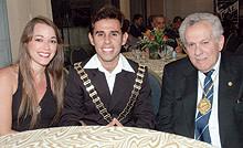 Tarcisio Ximenes and Yuzi SKAL INTERNATI