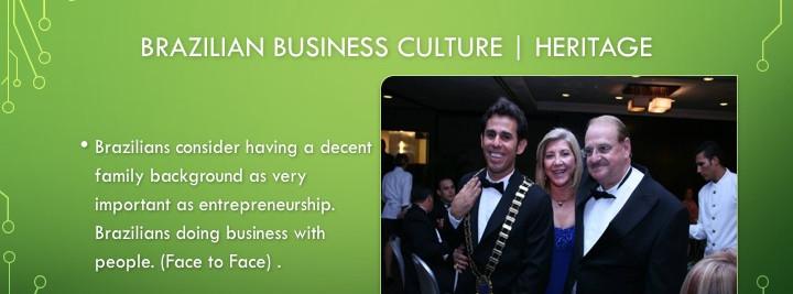Brazil Business Culture
