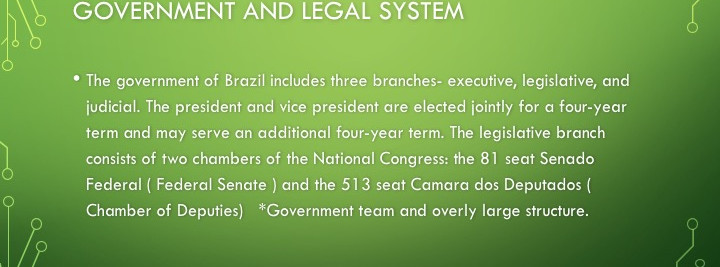 Brazil Government System