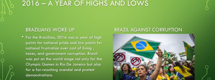 Brazilians woke up