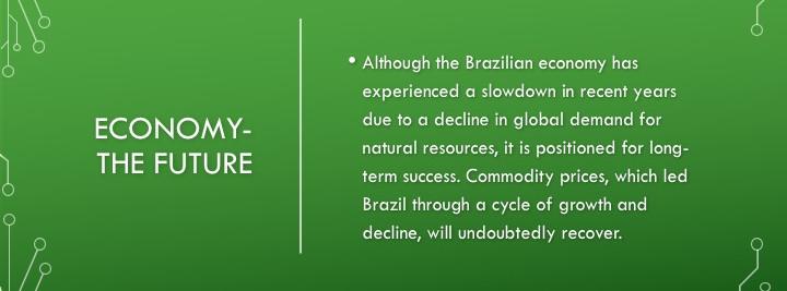 Brazil Economy Future