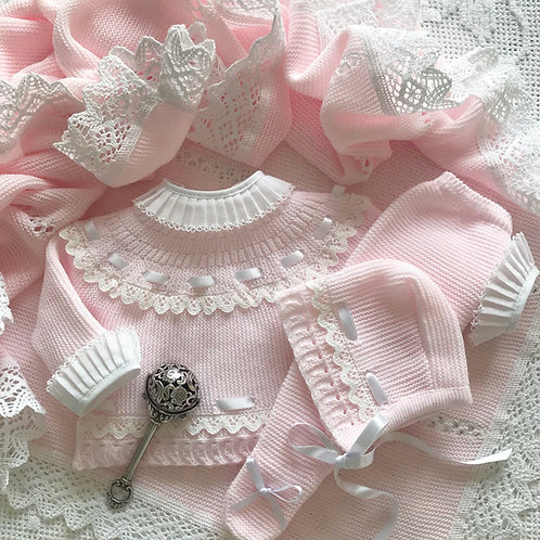 Padova ~ in pink and white (Bella Ruffle blouse can be purchased separately)