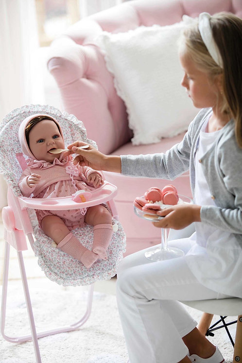 Spanish La Niña dolls high chair (doll sold separately)