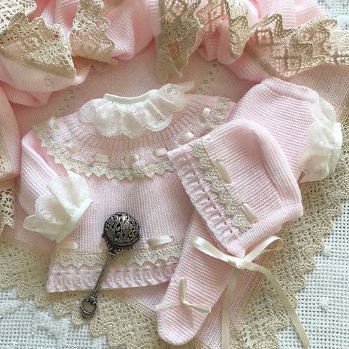 Padova ~ in pink and cream (Bella Ruffle blouse can be purchased separately)