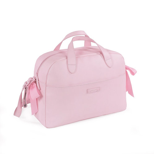 Pasito a Pasito ~ grosgrain bow bag in perfect pink