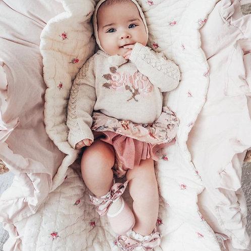 Rosie wearing 'Santarossa'