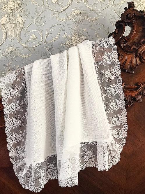 Civitavecchia blanket (in cream)