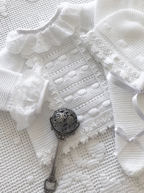 Livorno ~ in pure white (Lovere Lace blouse may be purchased separately)