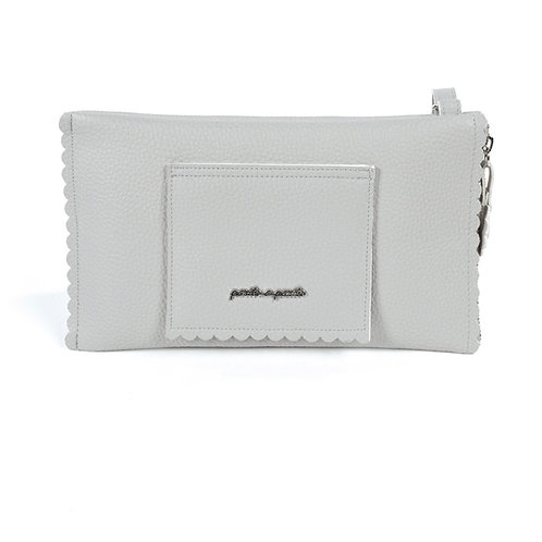 Pasito a Pasito baby wipes holder ~ in gorgeous grey