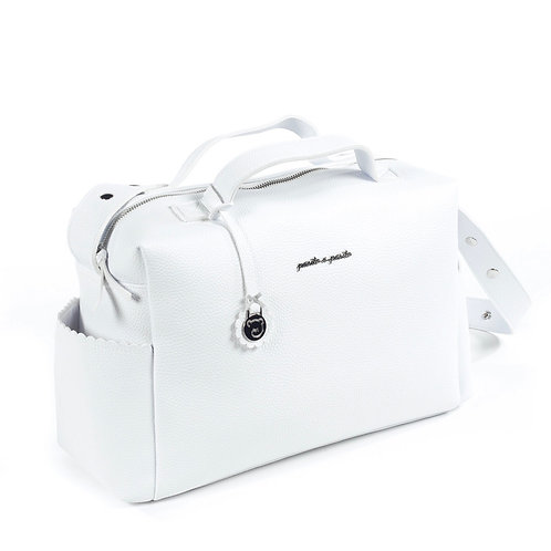 Pasito a Pasito changing bag ~ in white
