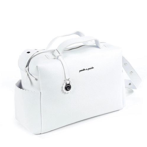 Pasito a Pasito changing bag ~ in white