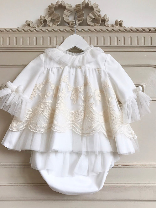 Cortina d'Ampezzo ~ comes with matching bonnet (sizes 6 to 18 months only)