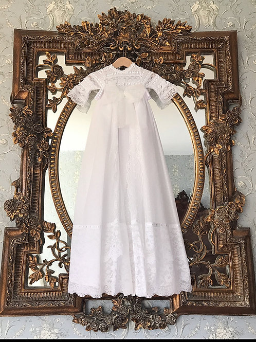 Chianciano Terme ~ full length gown with matching bonnet