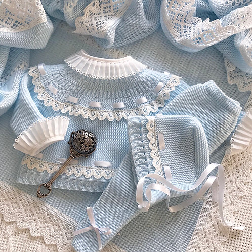 Padova ~ in blue and white (Bella Ruffle blouse can be purchased separately)
