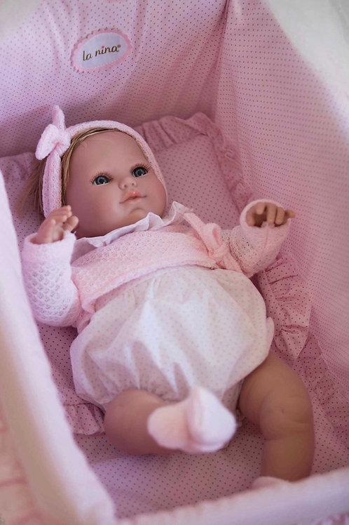 Spanish La Niña doll ~ 'Baby Blanca'