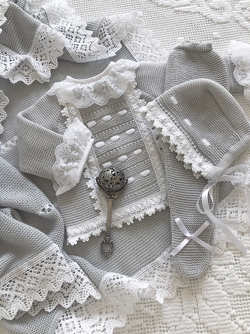 Livorno ~ in light grey (Love Lace blouse may be purchased separately)