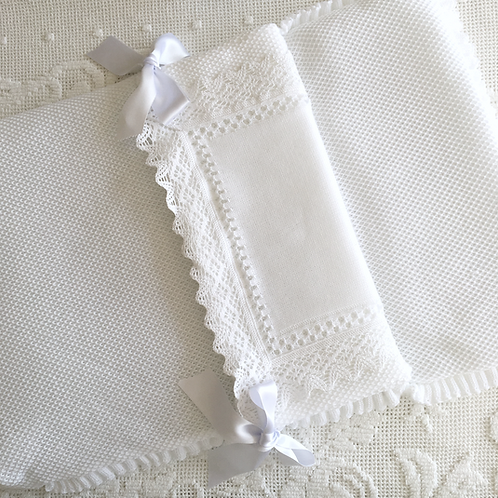 Bella Lace nest ~ in pure white