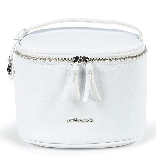 Pasito a Pasito vanity case ~ in white