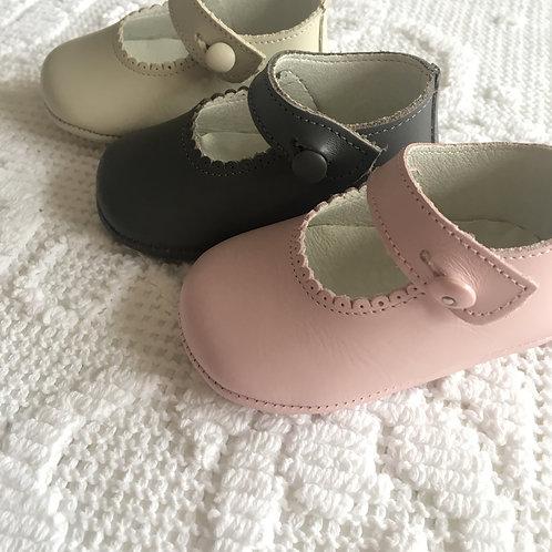 Bella pram shoes ~ leather