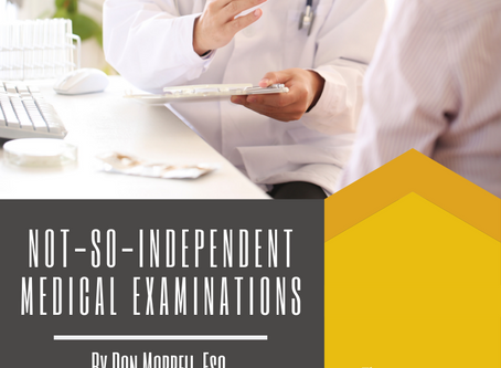 Not-So-Independent Medical Examinations