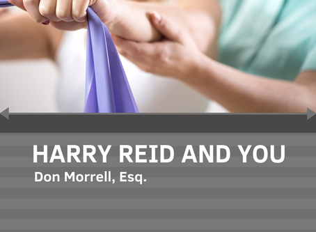 HARRY REID AND YOU