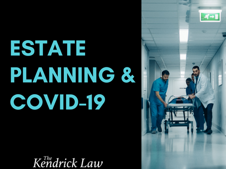Estate Planning and COVID-19