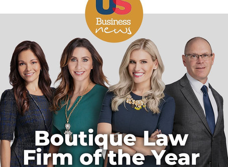 Kendrick Law Group named Boutique Law Firm of the Year & Best Boutique Family Law Firm