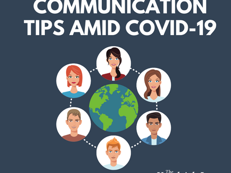 Communication Tips Amid COVID-19