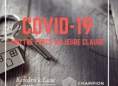 COVID-19 and the Force Majeure Clause