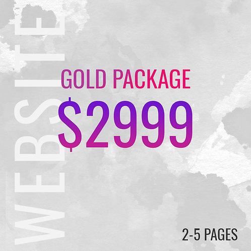 GOLD PACKAGE WEBSITE